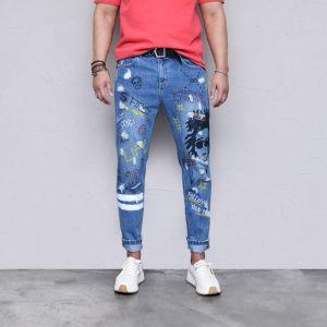 Funky Rock Star Vintage Denim-Jeans 550