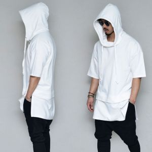 Extended Side Zip Hood-Hoodie 343