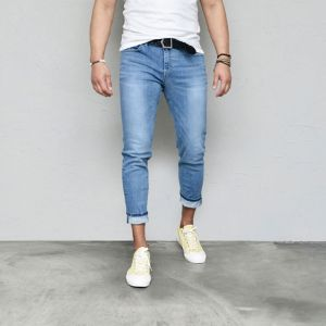 Handsome Stretchy Slim Ankle-Jeans 553