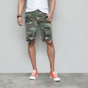 Vintage Camo Half-Banding-Shorts 229