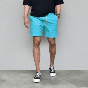 Vivid Corduroy Slim Shorts-Shorts 237