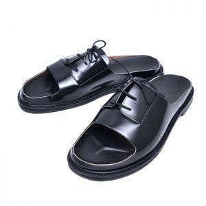 Dressy Cowhide Sandals-Shoes 811