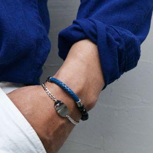 Sleek & Classy Steel Cuff-Bracelet 487