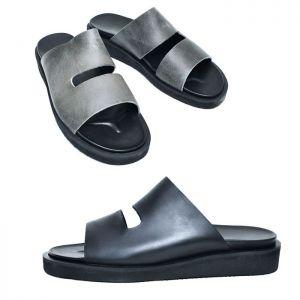 Unique Urban Cowhide Sandals-Shoes 818