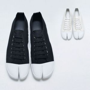 Contrast Toe Tabi Sneakers-Shoes 819