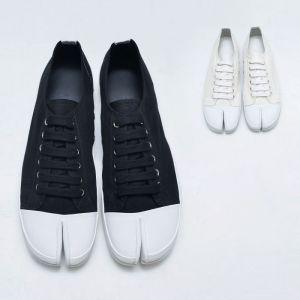 Contrast Toe Tabi Sneakers-Shoes 819