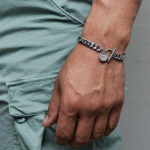 Elizabeth Coin Chain Cuff-Bracelet 496