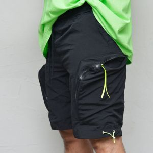 Zip Cargo Pocket Shorts-Shorts 262
