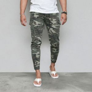 S/S Camo Banding Jogger-Pants 597