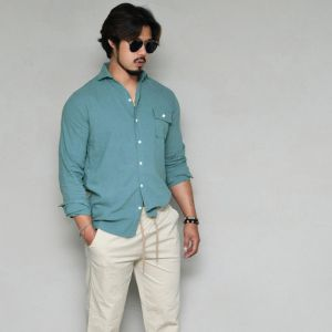 Wide Spread Pocket Holiday-Shirt 301