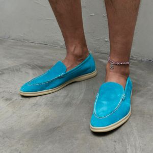 Classy Suede Loafer-Shoes 823