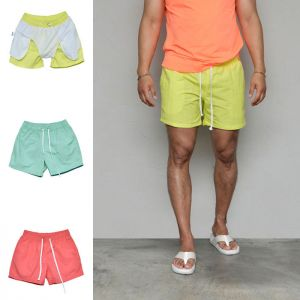 Pastel Slim Short Swimsuit-Shorts 266