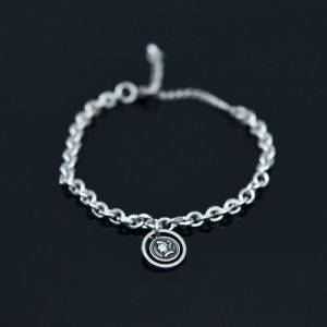 Face Coin Chain Cuff-Bracelet 503