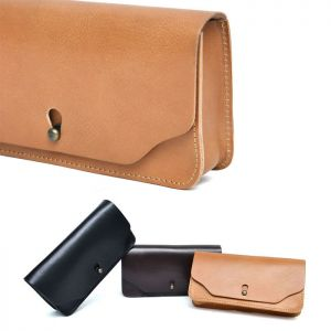 Sleek Leather Pouch-Bag 231