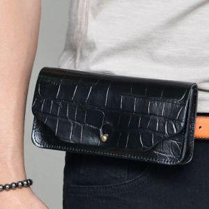 Belt Wearable Crocodile Pouch-Bag 232