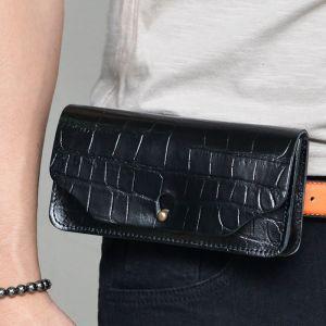 Belt Wearable Crocodile Pouch-Bag 232