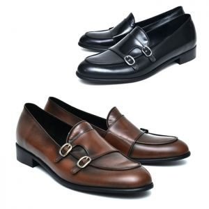 Unique Double Monk Oxfords-Shoes 832