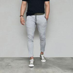 Slim Fit Biker Sweats-Sweatpants 436