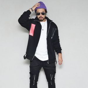 Stylish Funky Street Tech Zip Up-Jacket 411