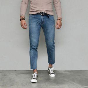 Classic Wash Vintage Cut Slim Ankle-Jeans 579