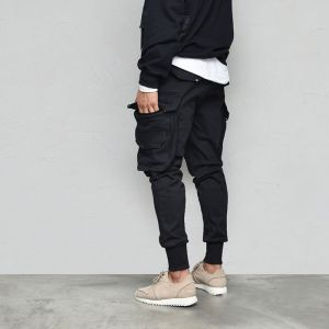 Semi-baggy Tech Cargo Jogger-Pants 617