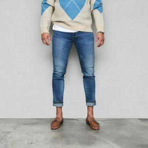 Classic VTG Slim Fit Banding-Jeans 581