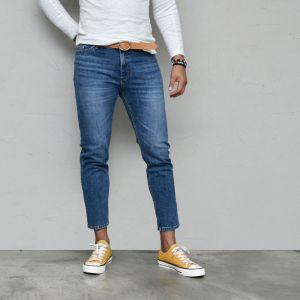 Deep Vintage Blue Slim Ankle-Jeans 582