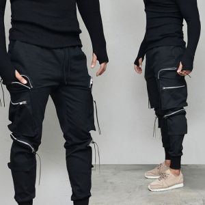Power 6 Zipper Cargo Tech Jogger-Pants 629