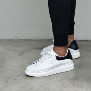 Classy Designer Leather Sneakers-Shoes 836