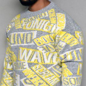 Funky Scream Cozy Sweater-Knit 258