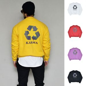 Karma Soft Cozy Fleece Round-Tee 349