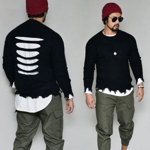 Power Destroy Damage Sweater-Knit 261