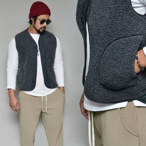 Shearilng Fleece Warm Cozer-Vest 166