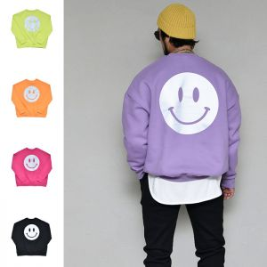 Double Fleece Warm Smile Crew-Tee 356