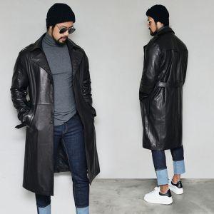 Uber Classy Lambskin Coat-Leather 176