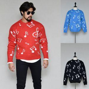 Sensuous Music Sweater-Knit 265