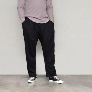 Avant-garde Wide Baggy Banding-Pants 639
