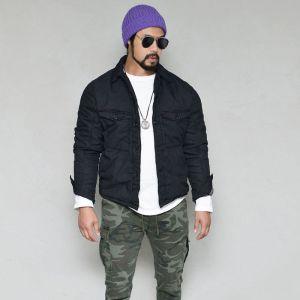 VTG Garment Wash Slim Bonding-Jacket 420