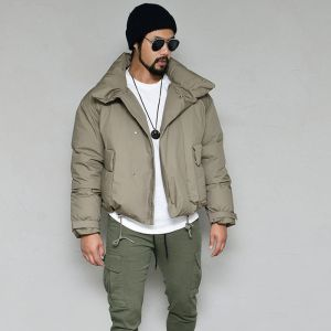 Short Down Slim Padding-Parka 119