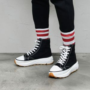 Street Edge High Top Sneakers-Shoes 840